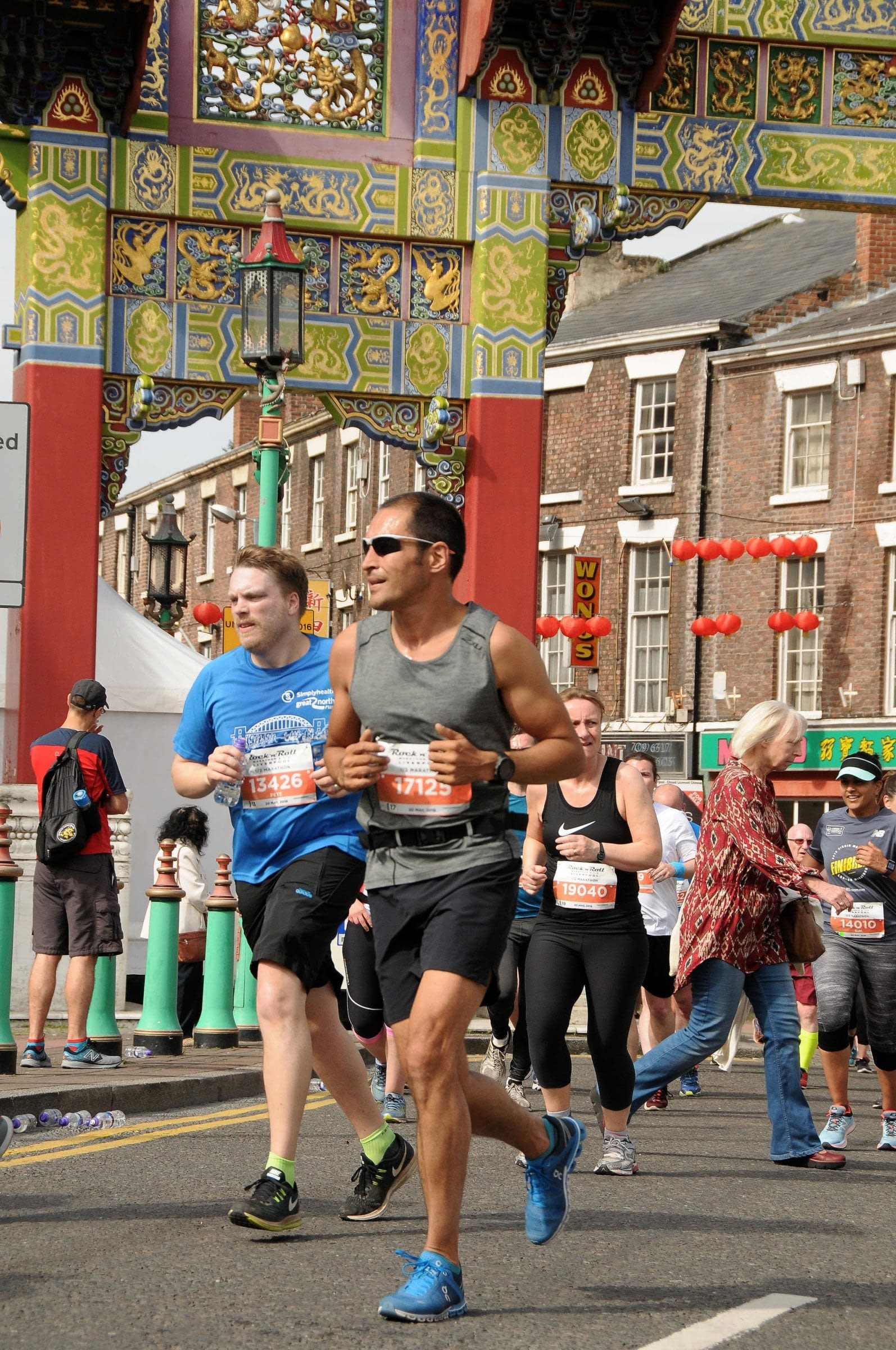 phil in liverpool half marathon